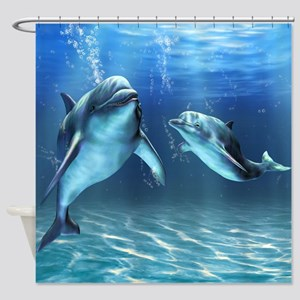 Dolphin Dream Shower Curtain