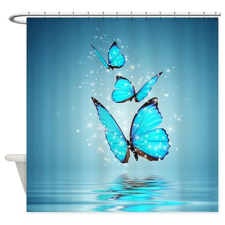 Magic Butterflies Shower Curtain
