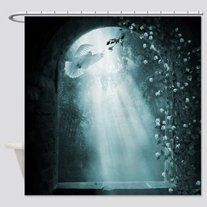 Gothic Tranquility Shower Curtain