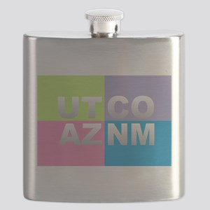 Four Corners USA Flask
