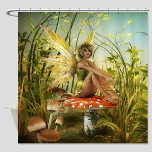 Indian Summer Fairy Shower Curtain