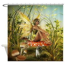 Indian Summer Fairy Shower Curtain