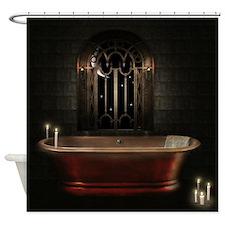 Gothic Bathtub Shower Curtain