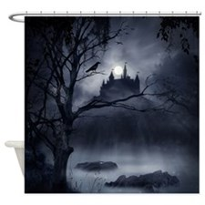 Gothic Night Fantasy Shower Curtain