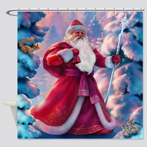 Christmas Morning Shower Curtain