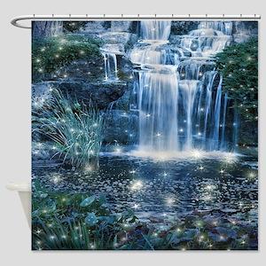 Magic Waterfall Shower Curtain