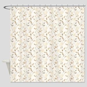 Autumn Leaf Pattern Shower Curtain