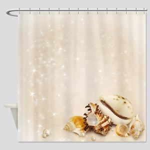 Magic Shells Shower Curtain