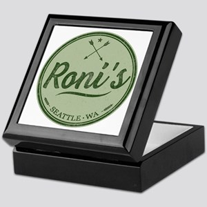 Roni's Bar Logo Keepsake Box