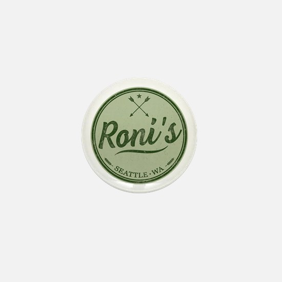 Roni's Bar Logo Mini Button