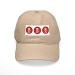 Skull & Crossbones - Red Circle Cap