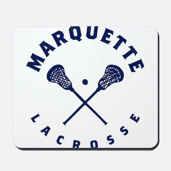 Marquette Golden Eagles Lacrosse Mousepad