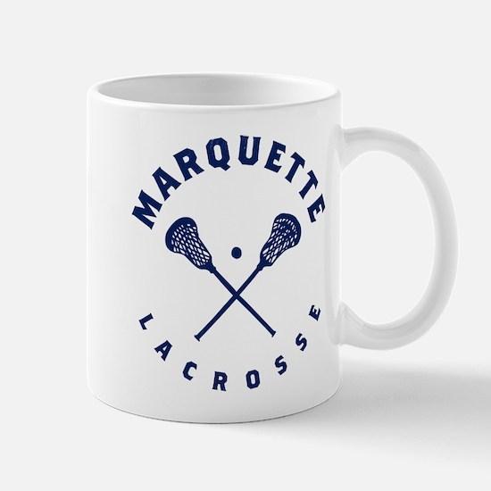Marquette Golden Eagles Lacrosse Mug