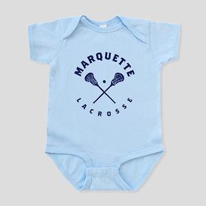 Marquette Golden Eagles Lacros Baby Light Bodysuit