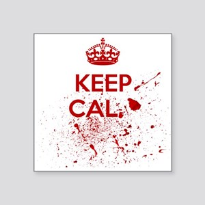 Keep Calm Blood Sticker