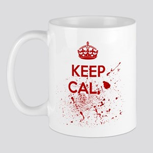 Keep Calm Blood Mugs