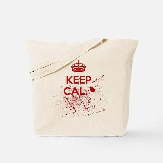 Keep Calm Blood Tote Bag