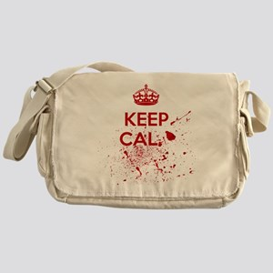 Keep Calm Blood Messenger Bag