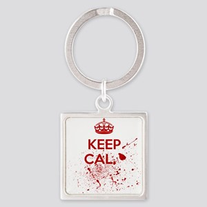 Keep Calm Blood Keychains