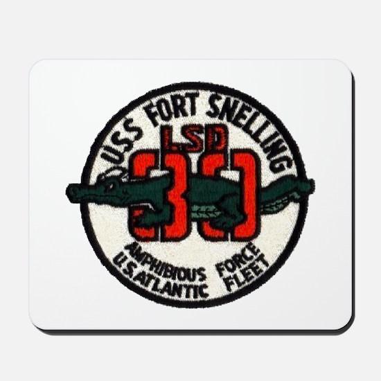 USS FORT SNELLING Mousepad