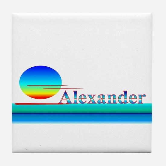 Alexander Tile Coaster