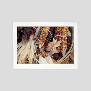 Indian fall corn 5'x7'Area Rug
