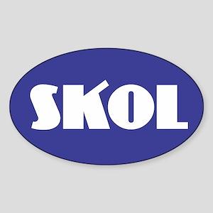 SKOL - Purple Sticker