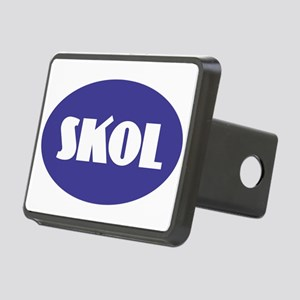 SKOL - Purple Rectangular Hitch Cover