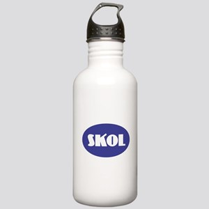 SKOL - Purple Stainless Water Bottle 1.0L