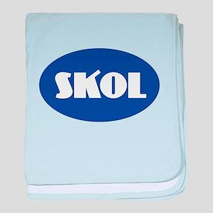 SKOL - Purple baby blanket