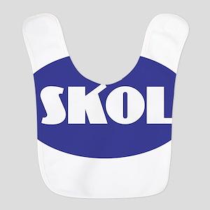 SKOL - Purple Polyester Baby Bib