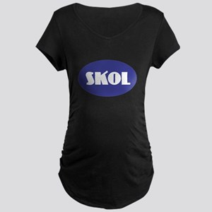 SKOL - Purple Maternity T-Shirt