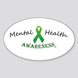 Mental Health Awareness Ribbon Sticker
