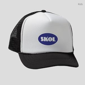 SKOL - Purple Kids Trucker hat