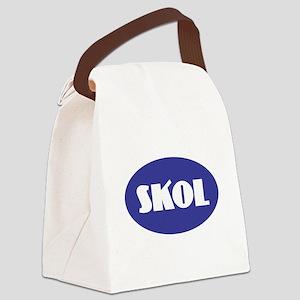 SKOL - Purple Canvas Lunch Bag