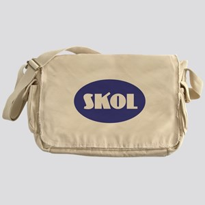 SKOL - Purple Messenger Bag