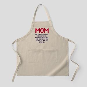 Mom She Knows Apron