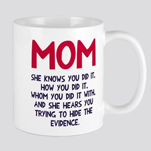 Mom She Knows Mug