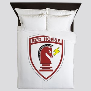 red_horse Queen Duvet