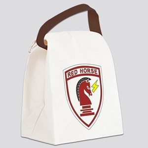 red_horse Canvas Lunch Bag