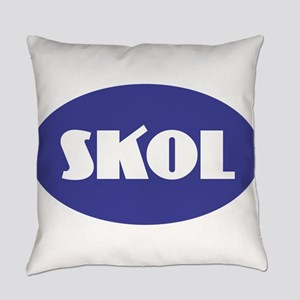 SKOL - Purple Everyday Pillow