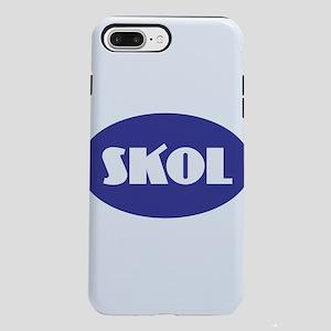 SKOL - Purple iPhone 7 Plus Tough Case