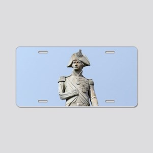 Lord Nelson London Pro phot Aluminum License Plate