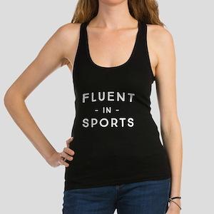 Fluent in Sports Tank Top