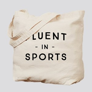 Fluent in Sports Tote Bag