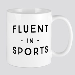 Fluent in Sports Mugs