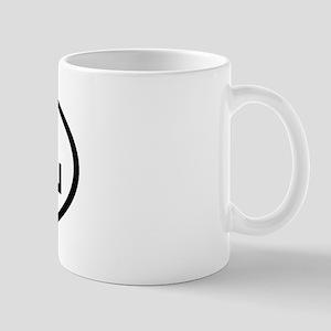 AOL Oval Mug