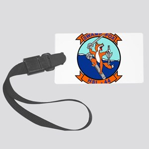 hsl44_swamp_fo Large Luggage Tag