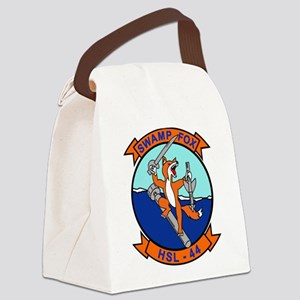 hsl44_swamp_fo Canvas Lunch Bag