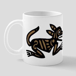 Tribal Dog Mug